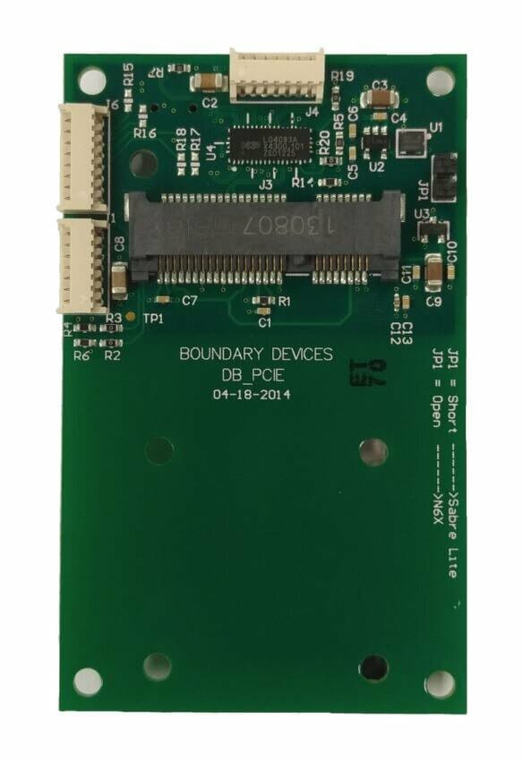 i.MX6 PCIE Daughter Board for Single Board Computer and System on Module