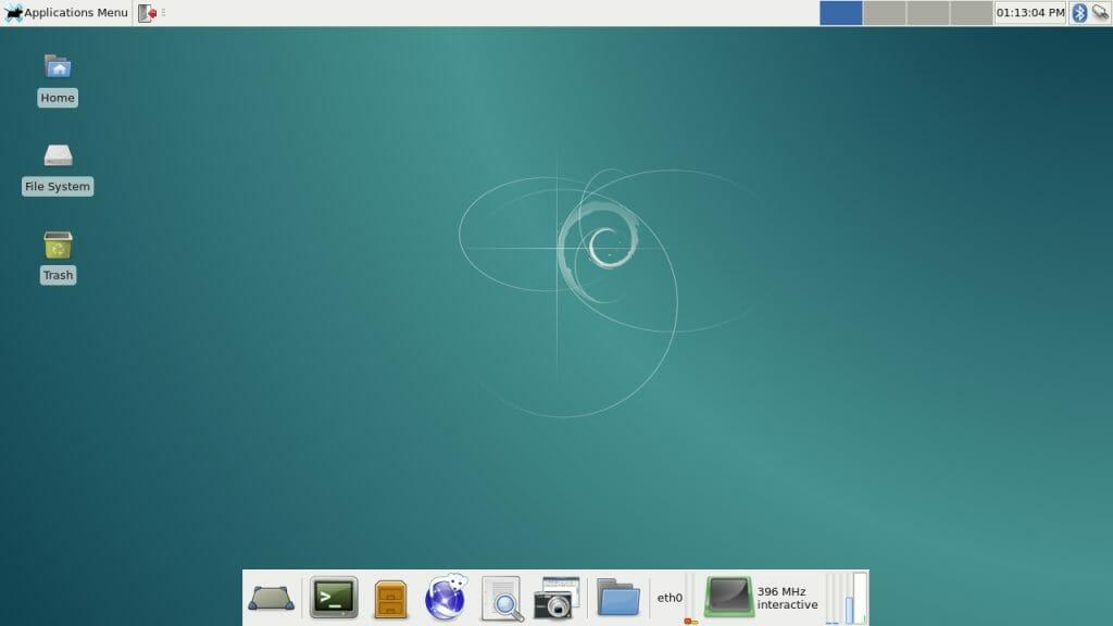 Debian Jessie - XFCE4 desktop
