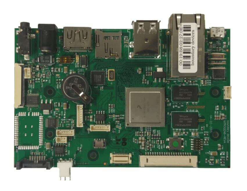 I Mx6 Embedded Single Board Computer