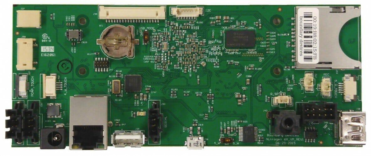 i.MX6 Single Board Computer SBC Nitrogen6_VM