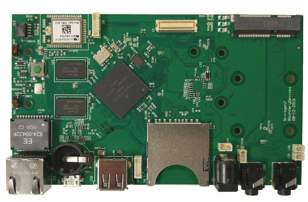 NXP i.MX7 Single Board Computer for Embedded ARM SBC