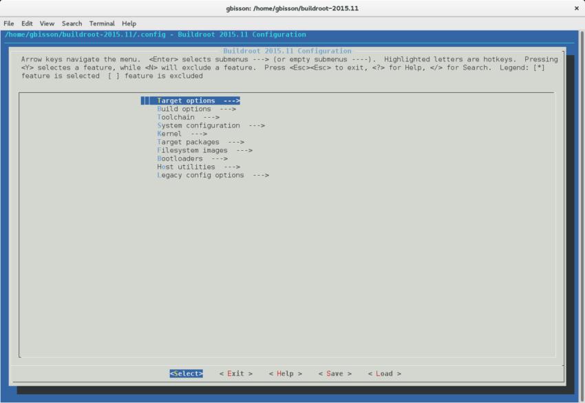 buildroot_menuconfig
