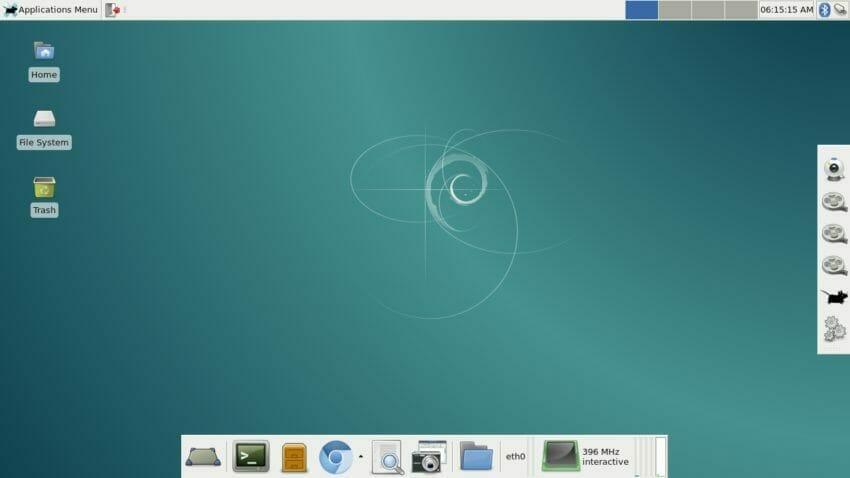 Debian Jessie 8.3 - XFCE4 desktop