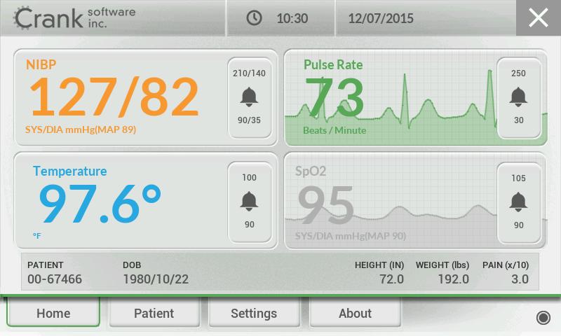 Crank Medical Monitoring Demo
