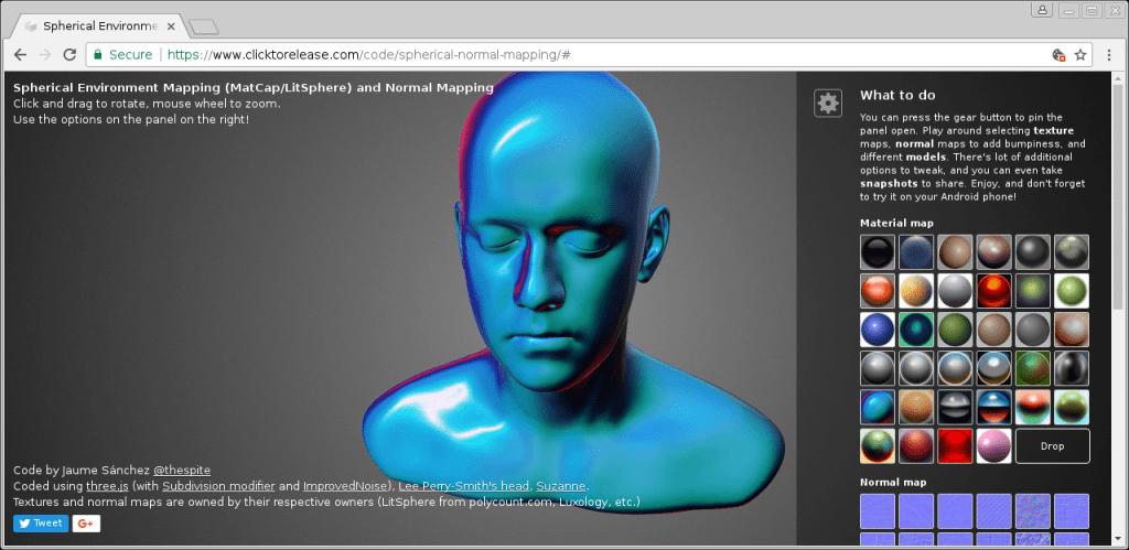 Chromium WebGL demo