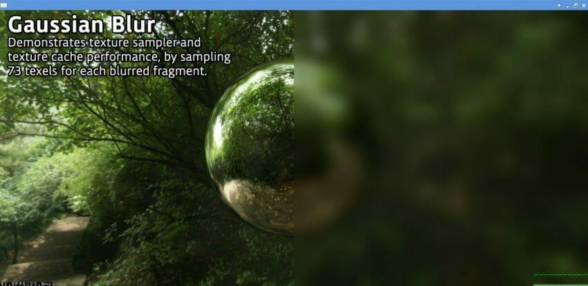 IMX GPU SDK 2.2.2 Gaussian Blur demo