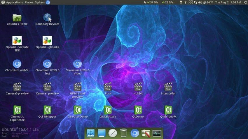 Ubuntu Xenial 16.04 - Mate desktop